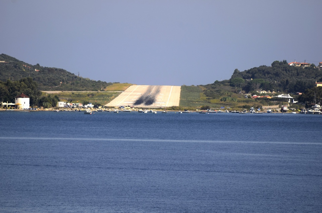 'Greece, runway of Skiatos Island' - Σκιαθος